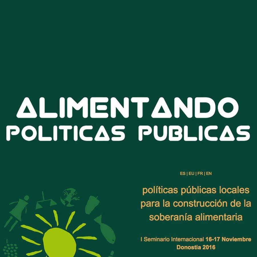 Desarrollo web e inscripción evento Políticas Públicas