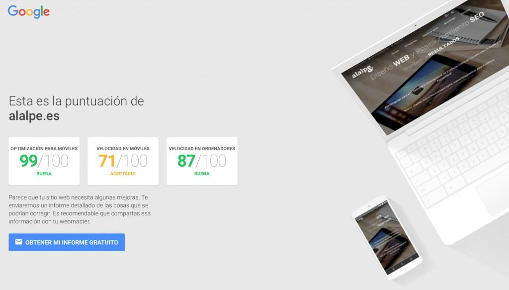 TestMySite de Google para mejorar nuestra experiencia móvil
