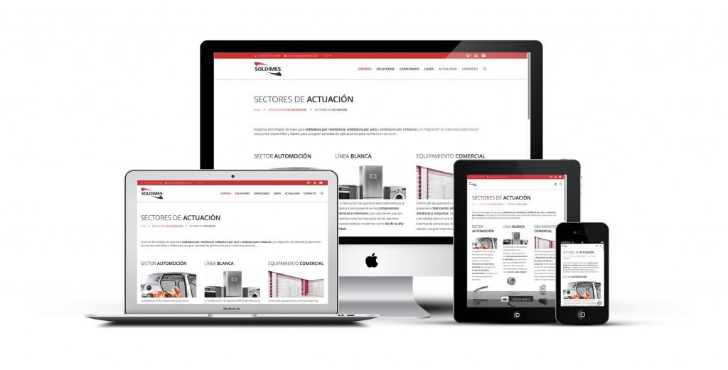 Diseño WEB y Posicionamiento SEO Soldimes