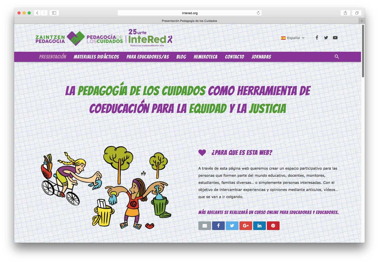 Desarrollo WEB y SEO Pedagogía de los Cuidados